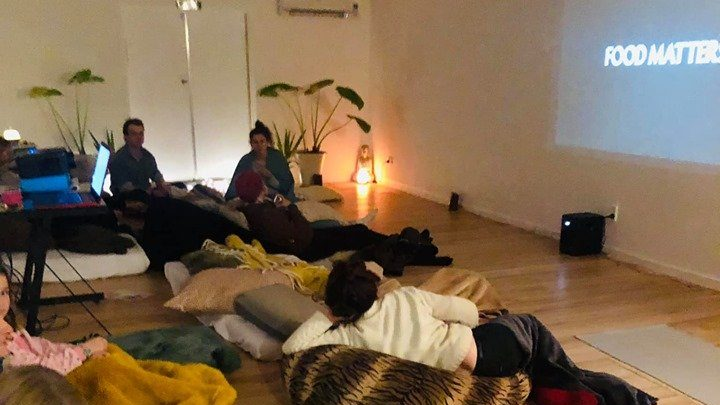 Mindful movie night