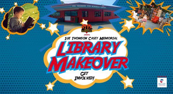 Library Makeover Banner